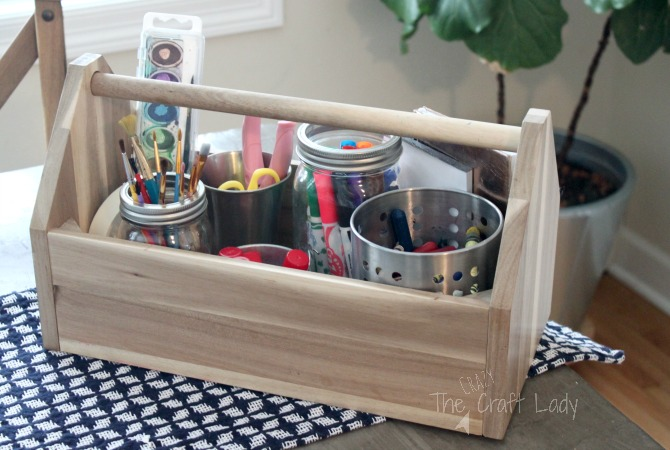 Kids Craft Caddy