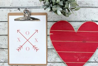 Valentine Arrow Printables – FREE download