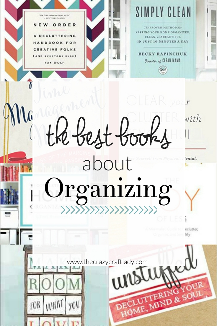 Best books about organizing the crazy craft lady for Best craft books 2017