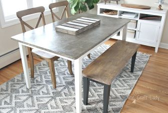 DIY Concrete Table Top – 2 Years Later