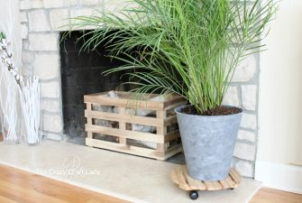 Ikea Planter Hack from a Cheap Trash Can