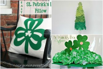 St. Patrick's Day Crafts from the Dollar Store