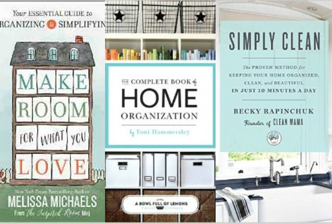 My Favorite Organizing Books