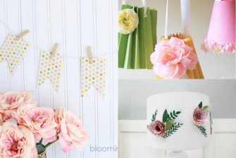 Spring Paper Crafts for Your Home