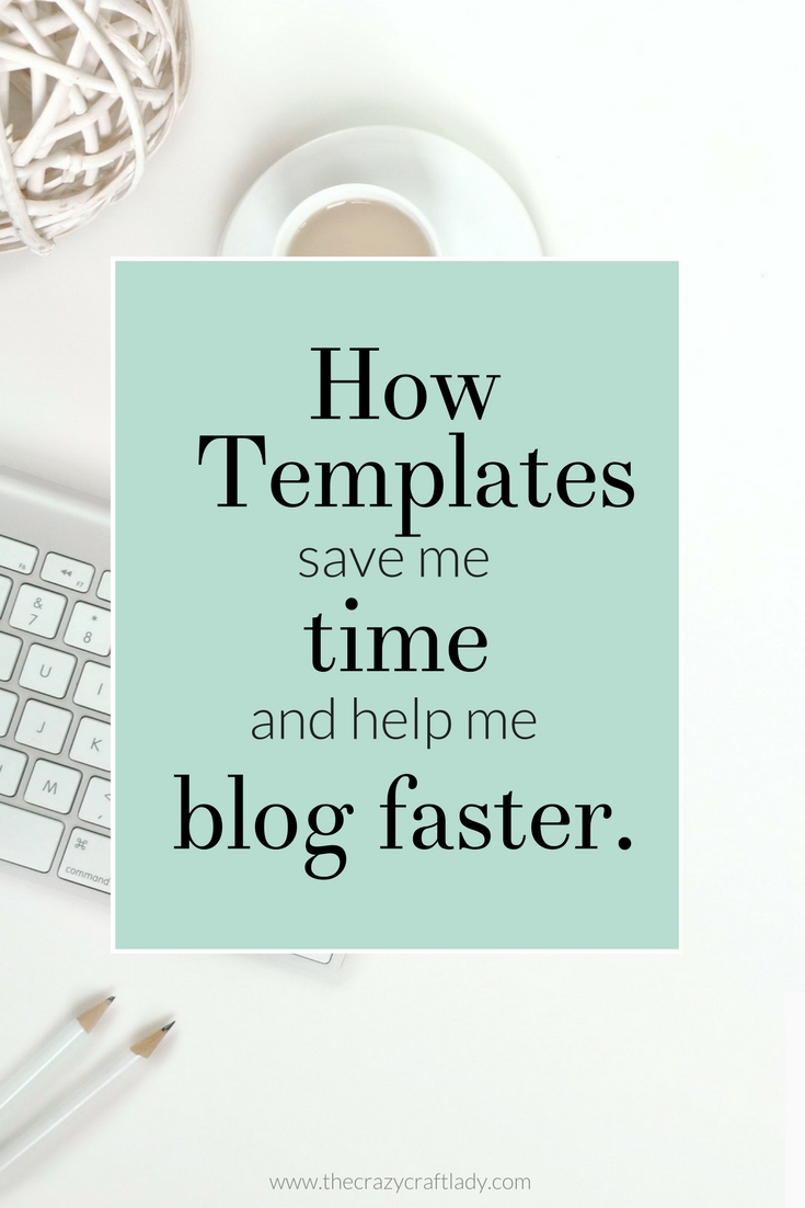 Using Templates for Efficient Blogging - How to make your own Blog Post Template and save TONS of TIME drafting blog posts