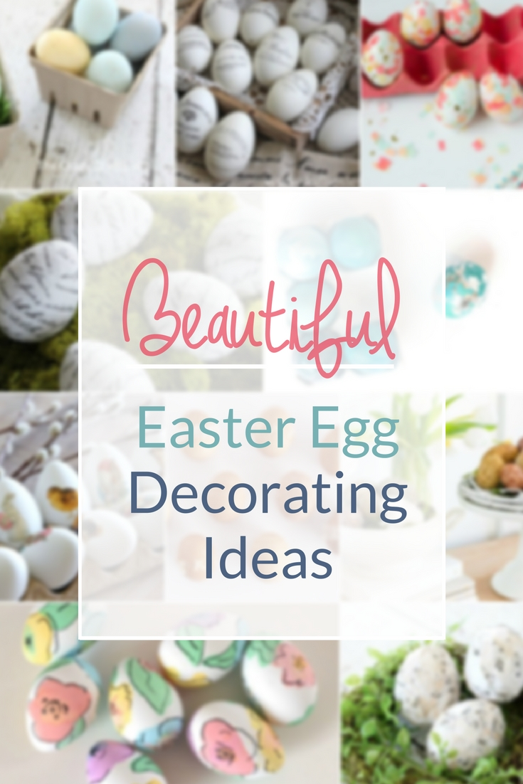 Check out these beautiful Easter eggs and get inspired for spring crafts. These are seriously some of the most AMAZING and creative ways to decorate Easter eggs!
