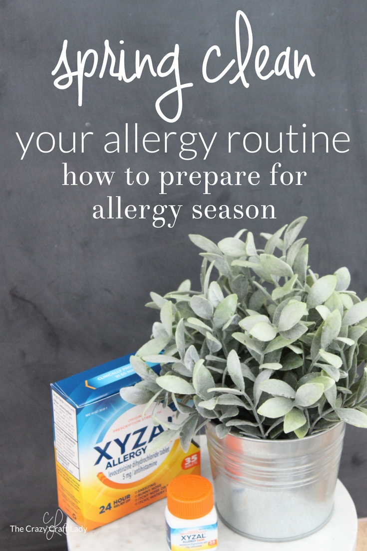 Spring Clean your Allergy Routine