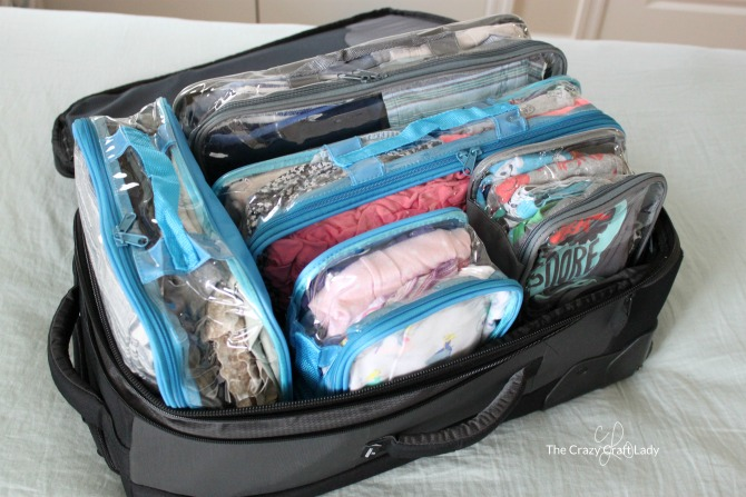 Organized Travel And Packing With Kids The Crazy Craft Lady