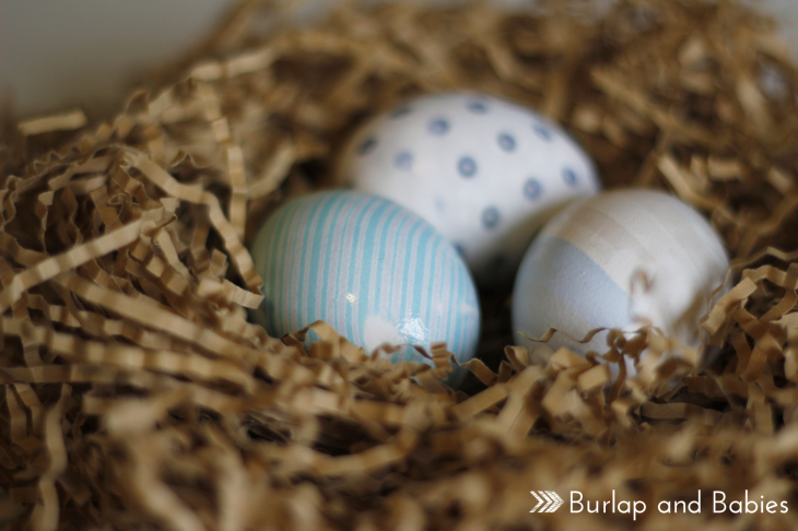 Beautiful Easter Eggs you Need to Try this Spring - DIY Silk Tie Dyed Easter Eggs