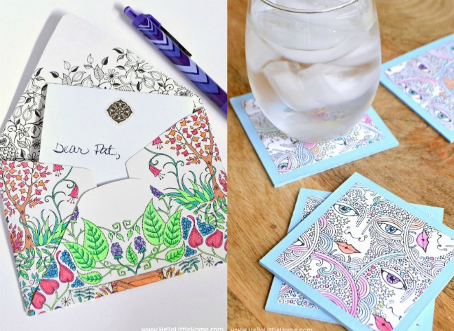 Uses for Coloring Pages - I'm always on the hunt for new craft ideas. Check out some of these amazing craft ideas and craft projects that are on my crafting radar right now!