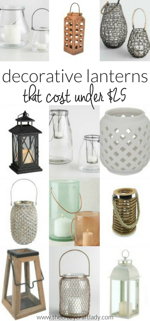 Summer is fast-approaching! Whether you are looking to add lanterns to an outdoor space or in your home, I've got you covered with these budget-friendly buys!