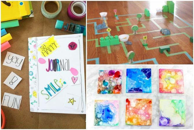 The Best Simple Kids Crafts and Boredom Busters