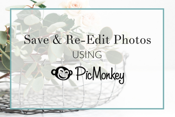 Follow this quick and easy video tutorial to see how to use the PicMonkey Hub so you can save and re-edit photos.