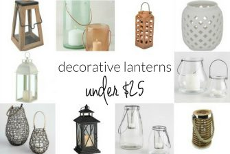 Budget-Friendly Buys: Lanterns Under $25