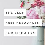 These are my absolute favorite FREE blogging resources, tools, ebooks, and plugins. Check out this must-see list of free tools for bloggers!