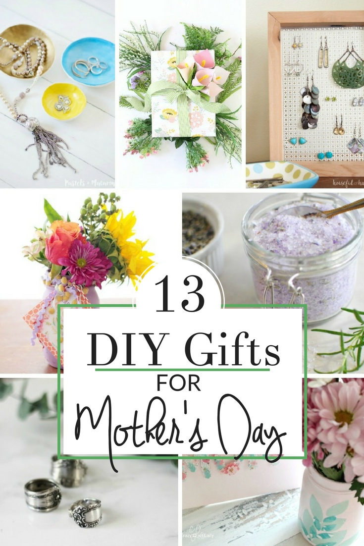 Special Gifts For Mom 13 Handmade Gift Ideas The Crazy