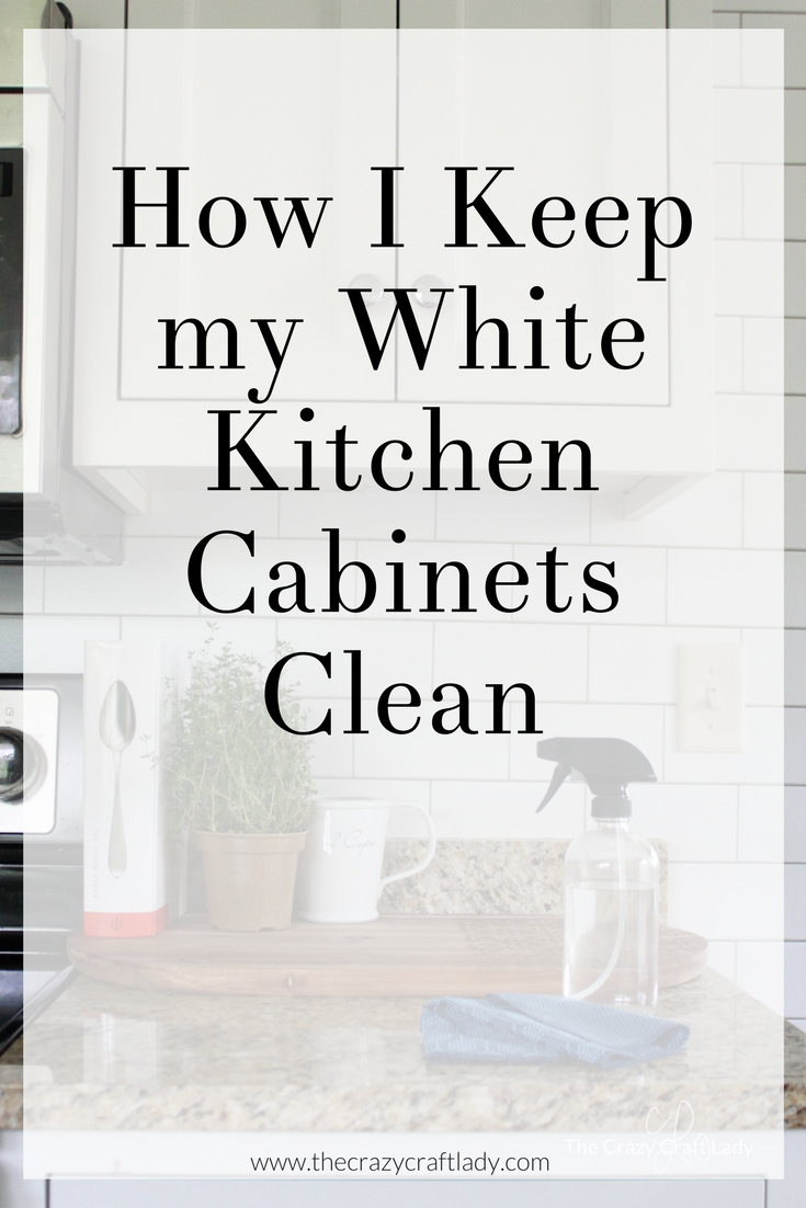 How to Keep White Kitchen Cabinets Clean