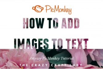 How to Place an Image in Text (for free!) with PicMonkey