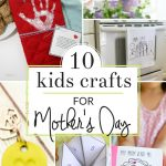 Give mom (or grandma) a meaningful gift this year with one of these handmade mother's day gifts from kids. Perfect kids crafts for Mother's Day!