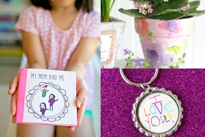 Homemade Mother's Day Gifts from Kids