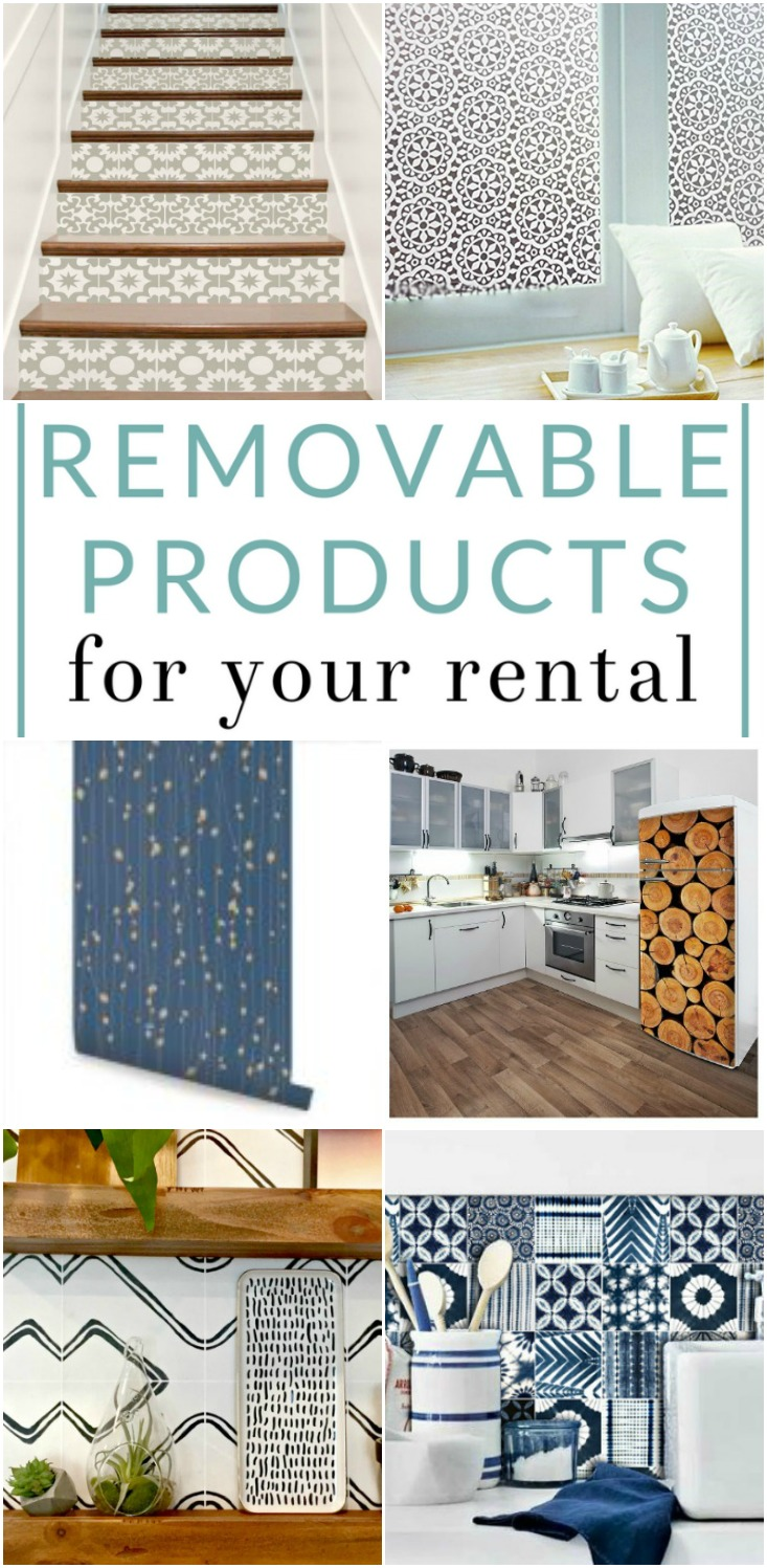 Try one of these genius damage-free and rental-friendly products for cute apartment decor today! Customize your rental & keep the landlord happy!
