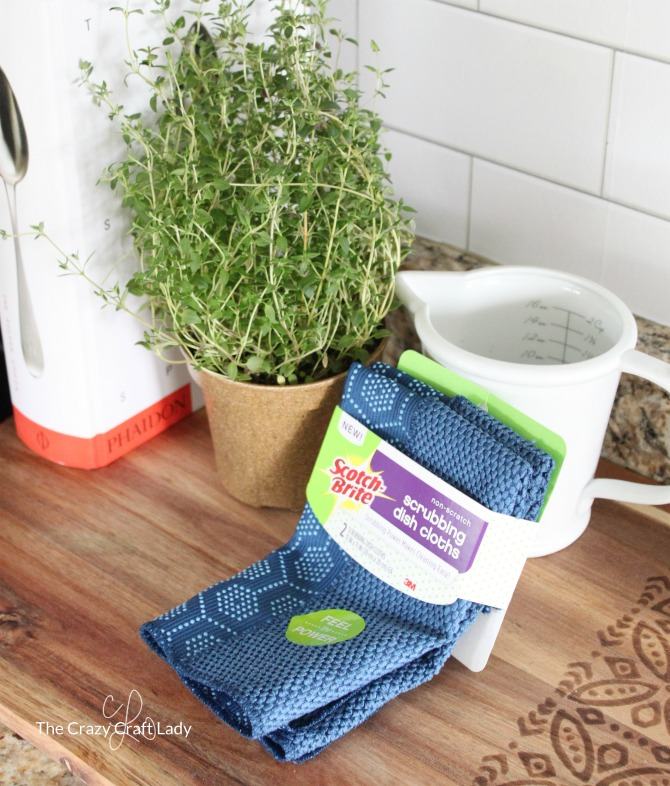Scotch Brite Scrubbing Dish Cloths