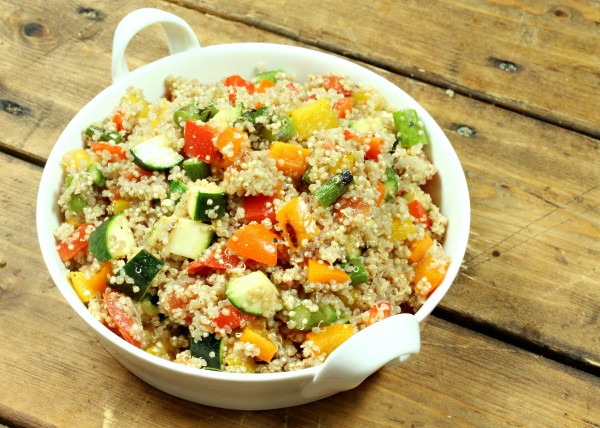 Try one of these light and refreshing quinoa salad recipes this summer. These salads are perfect for weekday lunches, potlucks, picnics, and everything in between!