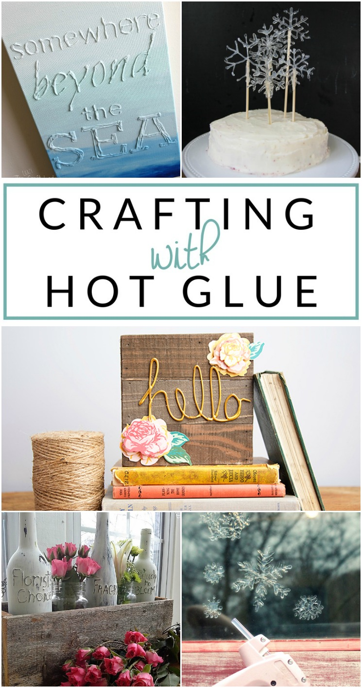 You won't believe what you can create with hot glue! Check out these inspired hot glue gun crafts. Make hot glue jewelry, hot glue crafts, and even hot glue DIY decor!