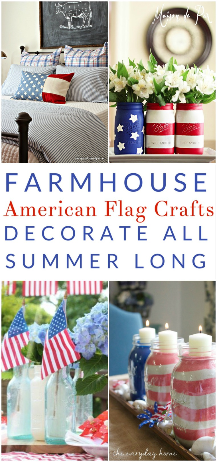 american flag crafts farmhouse decor all summer long the
