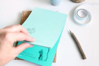 Make a Custom DIY Notepad Using Kids Artwork