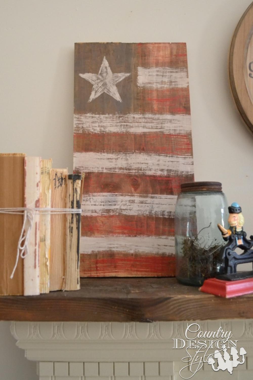 American Flag Crafts Farmhouse Decor All Summer Long