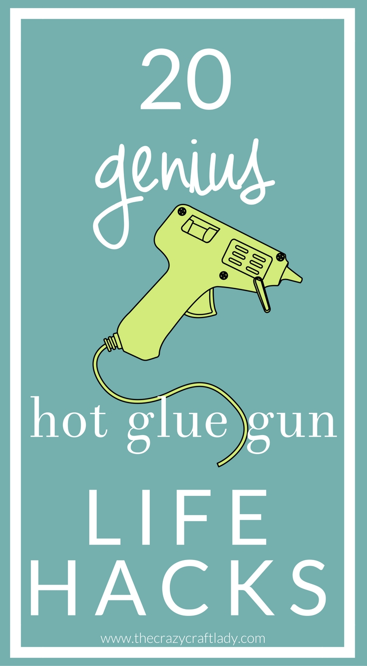 If you own a hot glue gun, you NEED to see these Tips, Hacks, and Glue Gun Uses. You won't believe the genius uses for your hot glue gun - everything from home hacks to crafts!