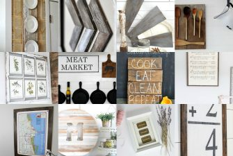 DIY Farmhouse Wall Decor Inspiration