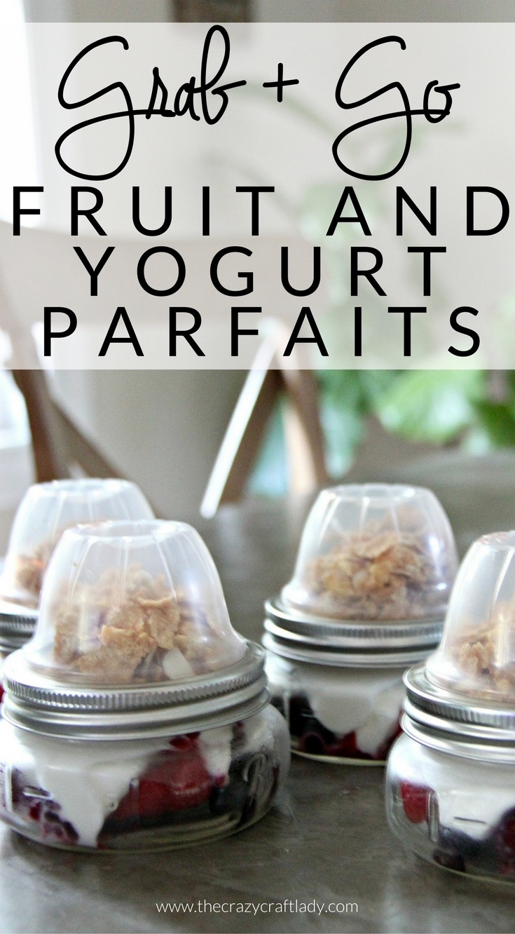 Yogurt and Berry Parfait – A Make Ahead Breakfast Solution