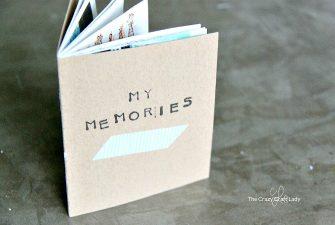Memory Scrapbook: Making a Mini Scrapbook with Kids
