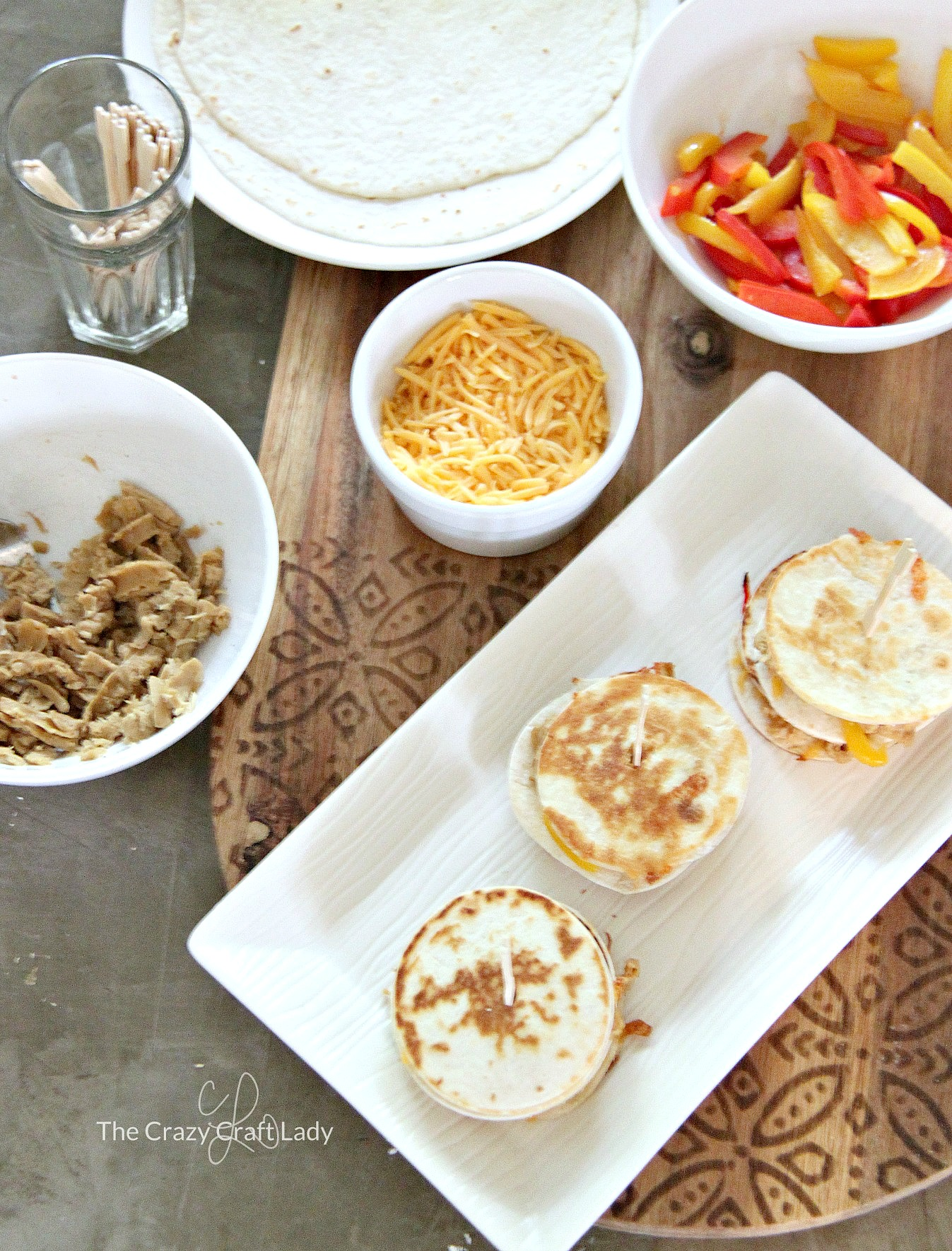 Pulled Pork Mini Quesadilla Sliders – A Yummy Vegetarian Recipe
