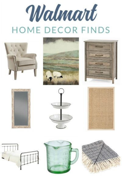 Don't Knock It 'Til You Try It: Walmart Farmhouse Decor Picks