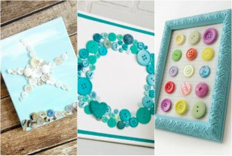 25 Brilliant Button Art Ideas and Crafts You're Gonna LOVE!