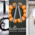 DIY Dollar Store Halloween Wreaths - You won't believe that these Halloween wreaths were made from dollar store supplies!