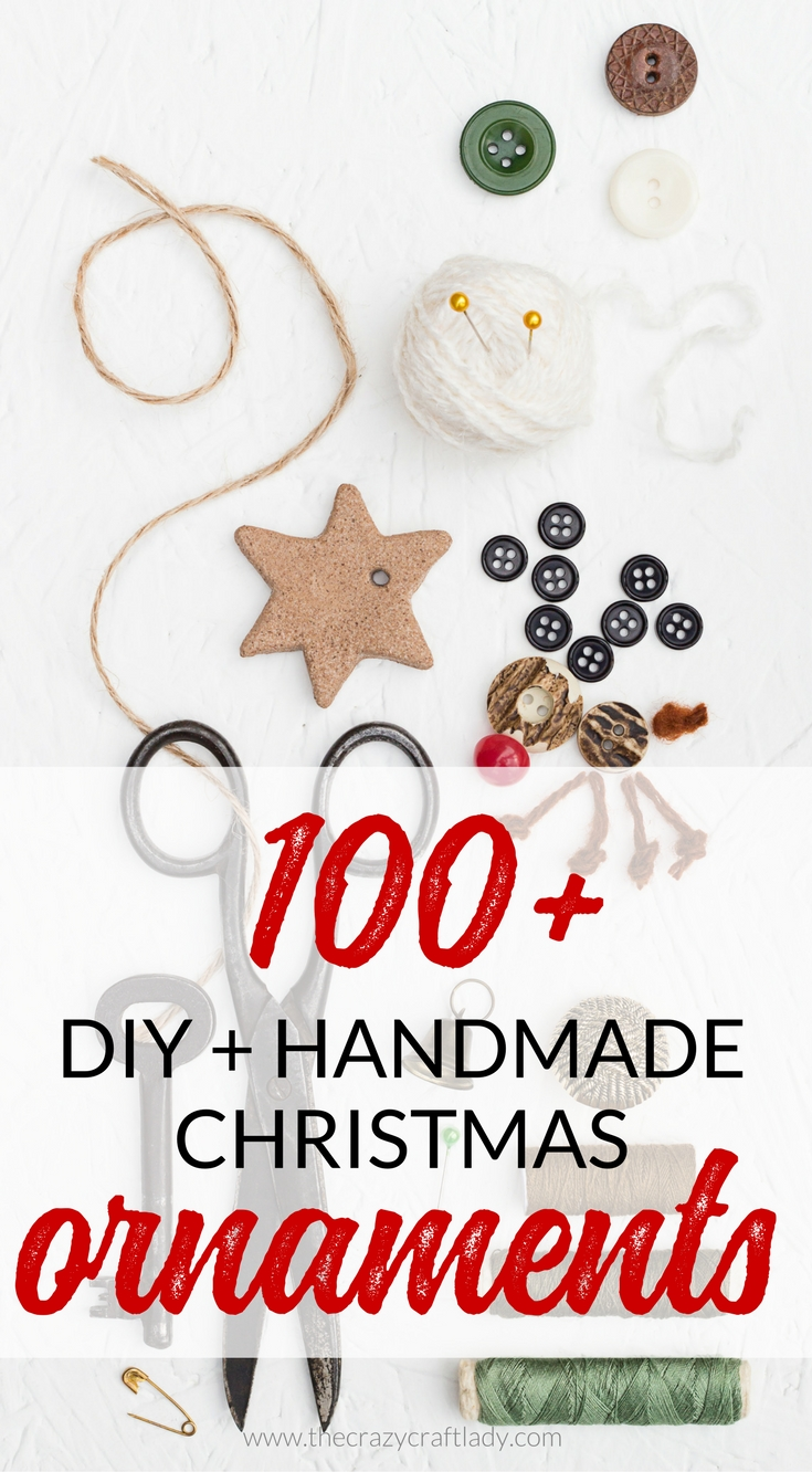 I've searched high and low for Unique Christmas Ornaments. Check out literally hundreds of DIY and handmade ornaments for your Christmas tree. There are ornament ideas for all styles, from rustic to elegant, and all materials including paper, wood, glitter, glass, and felt.