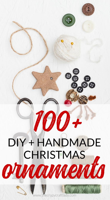 unique christmas ornaments - hundreds of diy and handmade ideas