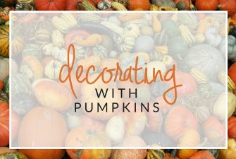 Fall Inspiration: Decorating with Pumpkins