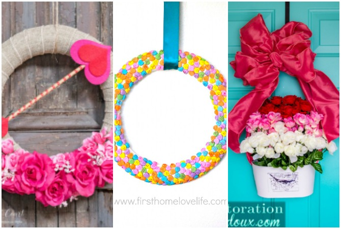 You May Not Believe It But These Valentine Wreath Ideas All Use Supplies From The