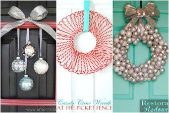 16 Gorgeous Dollar Store Christmas Wreaths
