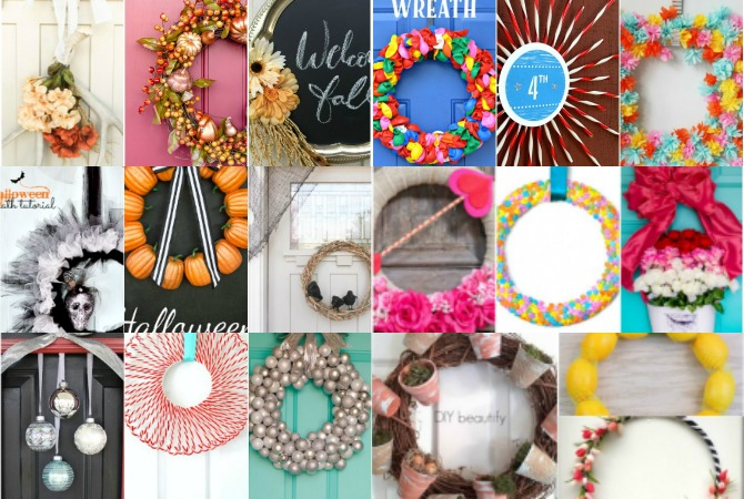 DIY Dollar Store Wreaths for Every Season