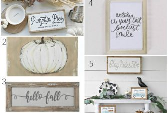 Steals and Deals: Favorite Fall Farmhouse Decor