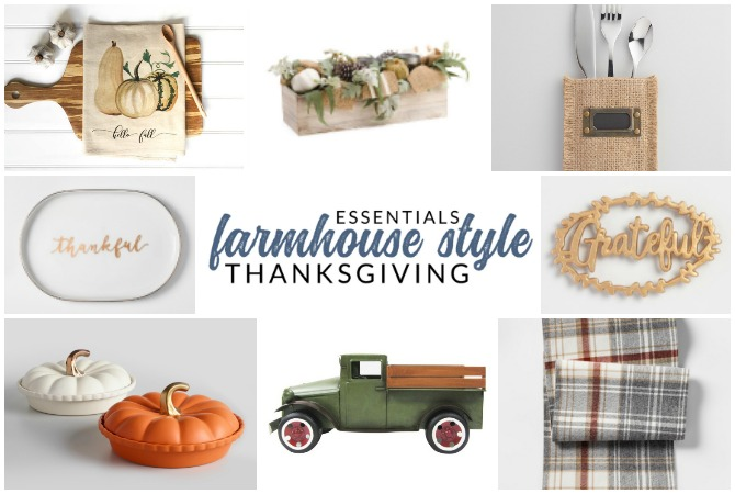 Essentials for your Farmhouse Thanksgiving Gathering