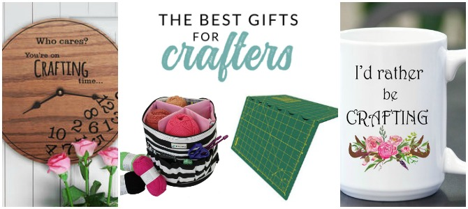Gifts for Crafty People and Creatives. This is the ultimate gift guide and shopping list for the crafter in your life. Creative gift ideas from The Crazy Craft Lady