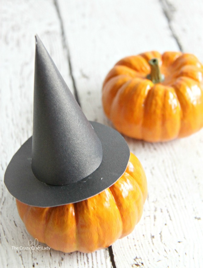 image regarding Witch Hat Printable known as Mini Witch Hat and Printable Template for Halloween - The