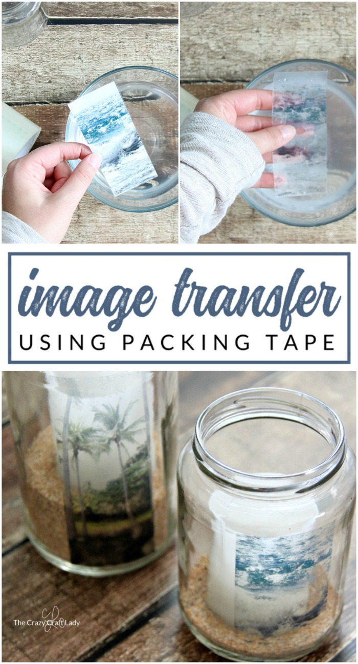 You won't believe how easy it is to add photos on glass. Follow this simple tutorial to make image transfer glass jars. Learn how to add any image to a glass surface!